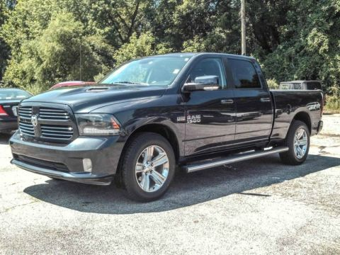 Pre-Owned 2015 Ram 1500 Sport Four Wheel Drive Pickup Truck