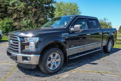 Pre-Owned 2015 Ford F-150 XLT w/HD Payload Pkg Four Wheel Drive Pickup Truck
