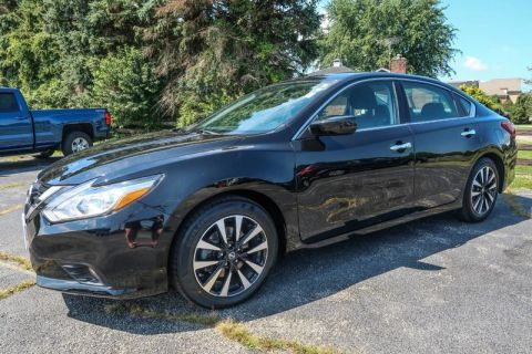 Pre-Owned 2018 Nissan Altima 2.5 S Front Wheel Drive Sedan