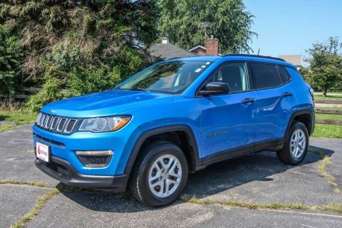 Pre-Owned 2018 Jeep Compass Sport Four Wheel Drive Sport Utility