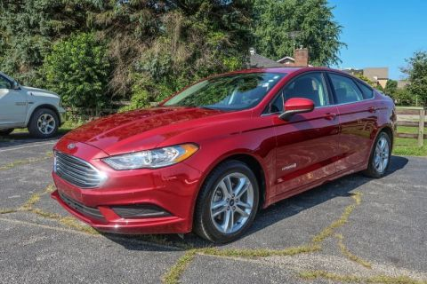 Pre-Owned 2018 Ford Fusion Hybrid SE Front Wheel Drive Sedan